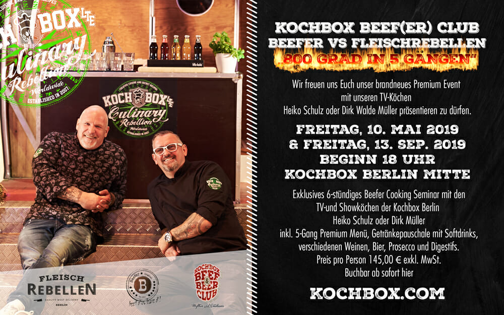 Kochbox Beef & Beer Club